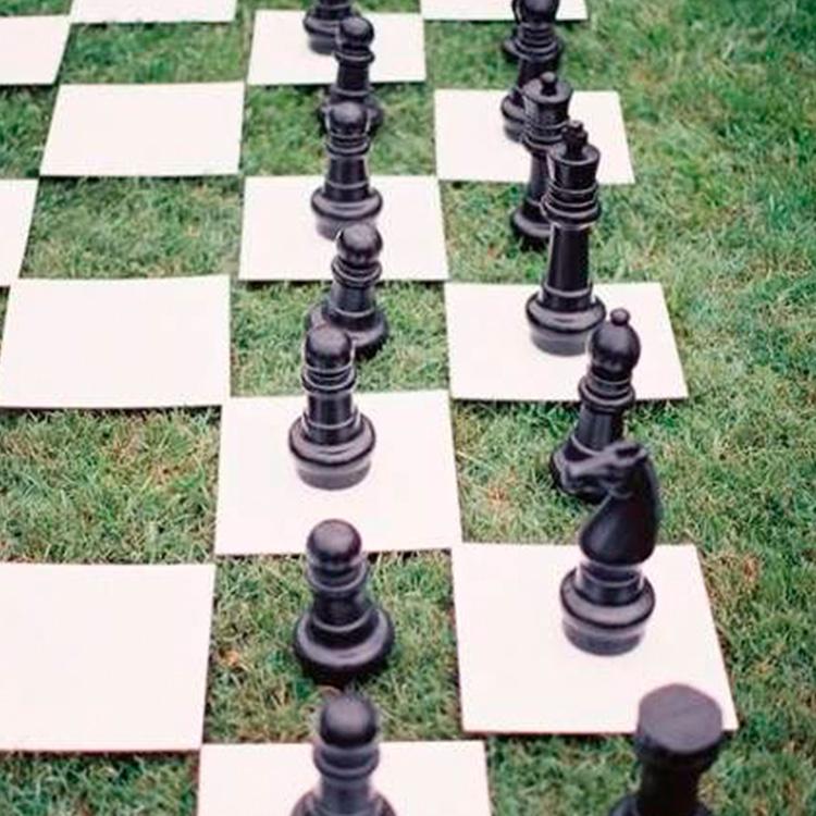 Inspiração de Decoração Xadrez