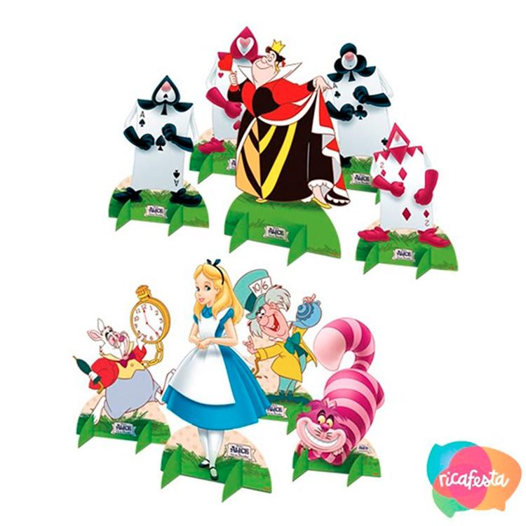Decoração Alice do País das Maravilhas Rica Festa