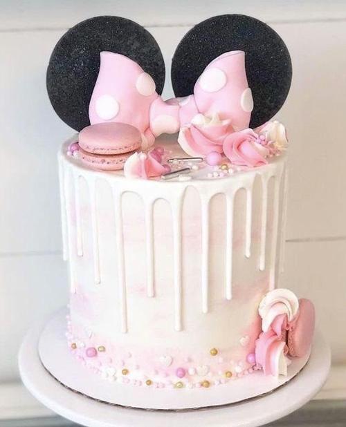 Bolo festa Mickey e Minnie Rica Festa
