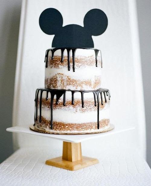Ideias de bolo para festa Mickey e Minnie Rica Festa