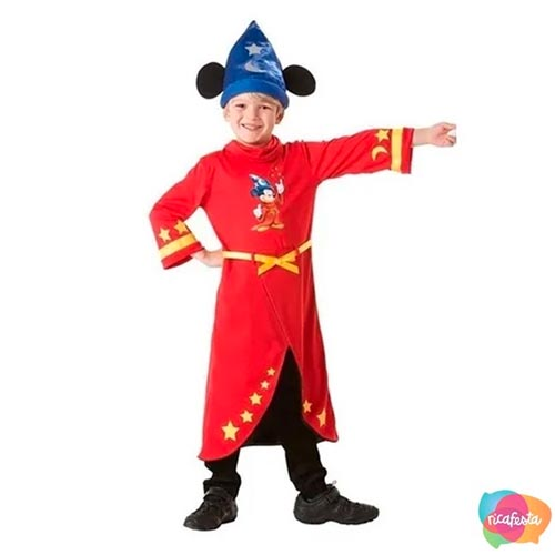 Fantasia Mickey Mouse Mago - Rica Festa
