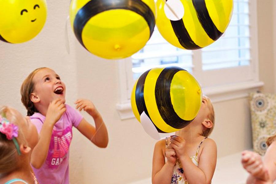 Balões festa abelhinha - Rica Festa