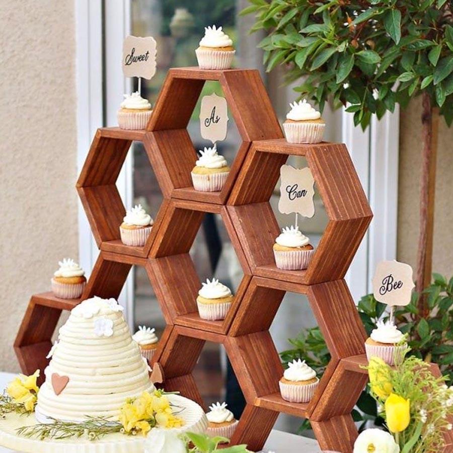Decoração da mesa festa abelhinha - Rica Festa