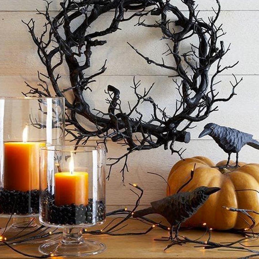 Guirlanda Ideias para festa de Halloween por Dani Folloni It Mãe - Rica Festa