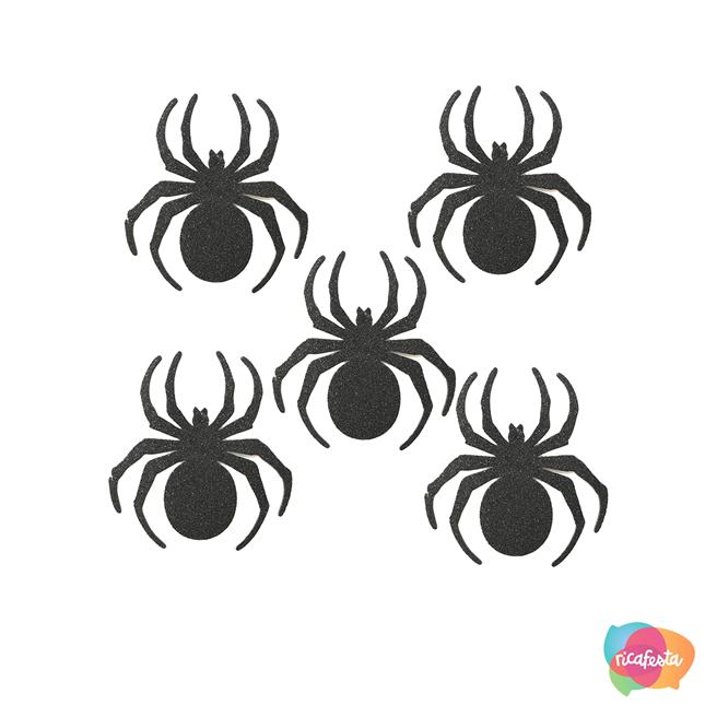 Aranhas Dia das Bruxas - Rica Festa
