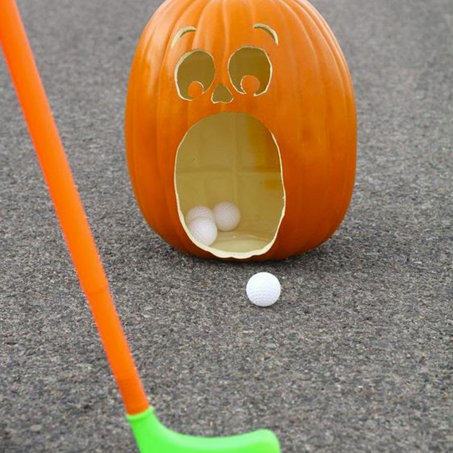Mini golfe Ideias para festa de Halloween por Dani Folloni It Mãe - Rica Festa
