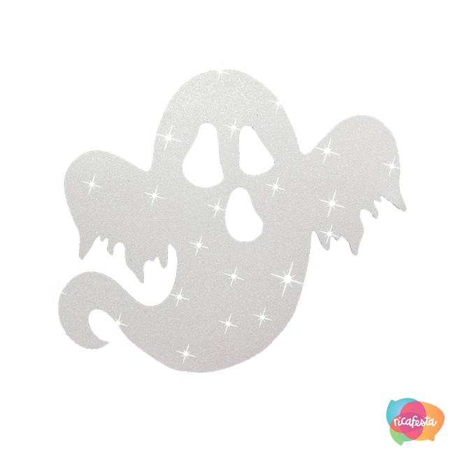Silhueta fantasma Artigos decorativos para festa de Halloween por Dani Folloni It Mãe - Rica Festa